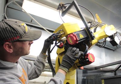 robotic arm repair