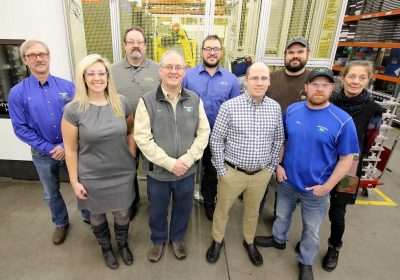 Pequot Tool and Manufacturing team